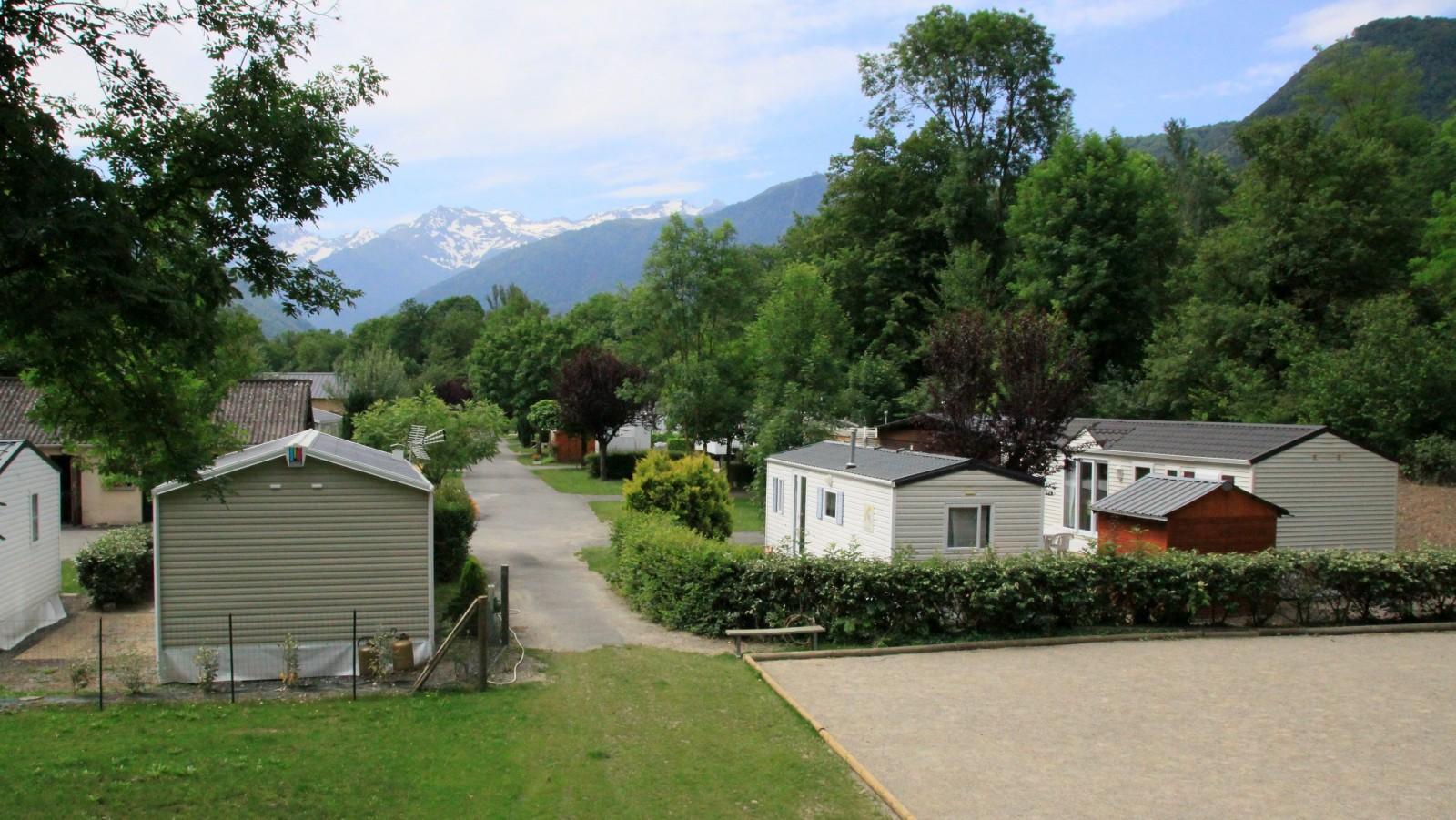 Plan camping Le Pyrénéen