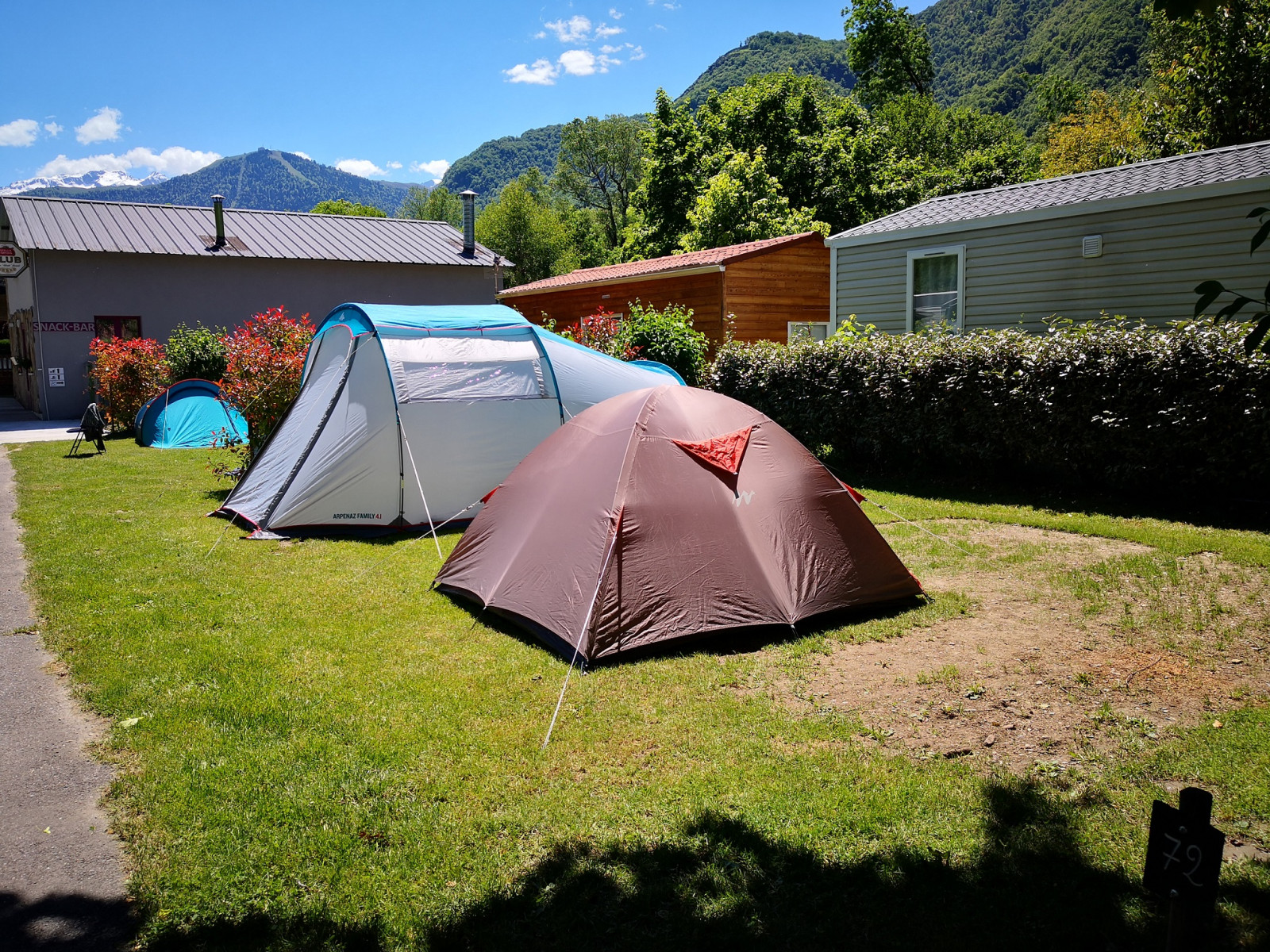ACCUEIL CAMPING LE PYRENEEN